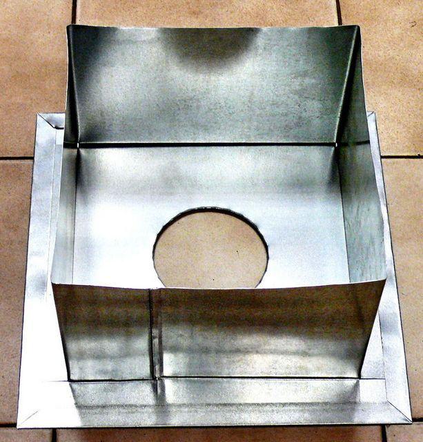 Коробчатый блок для проходки через стену или перекрытие