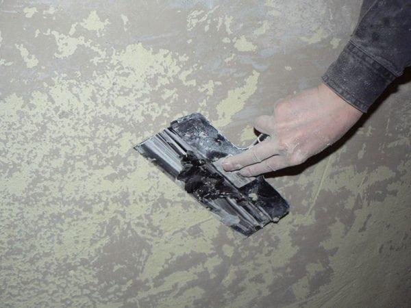 Шпаклевание стены под плитку