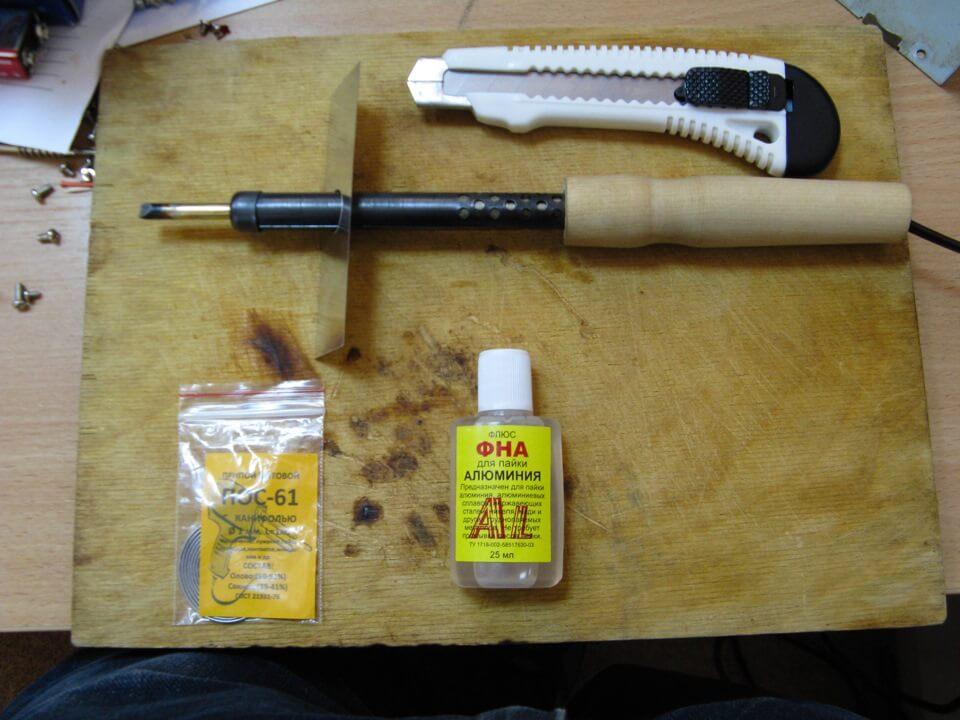 Набор инструментов для спаивания