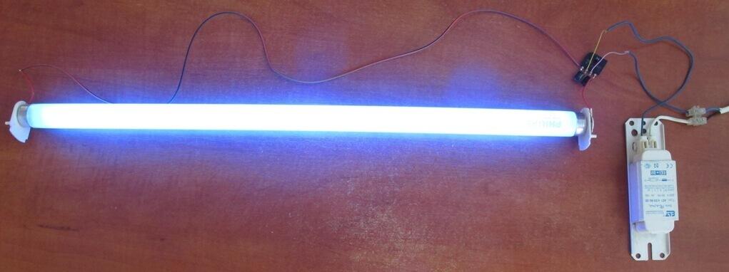 Люминесцентная лампа с дросселем