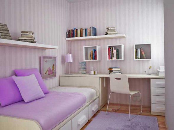 Подбираем цвета для маленькой комнаты