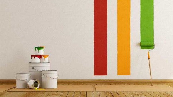 Покраска стен в квартире все более актуальный способ декорирования