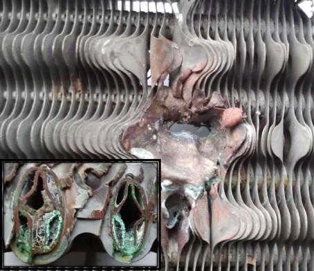 накипь в отопительных радиаторах