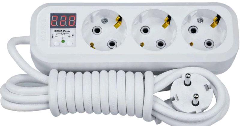 Реле-удлинитель предельно прост в подключении к домашней электрической сети