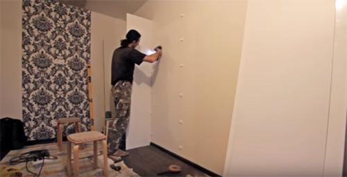 Как сделать шкаф-купе своими руками: чертежи, этапы сборки и фото красивых работ