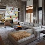 серый диван уголок