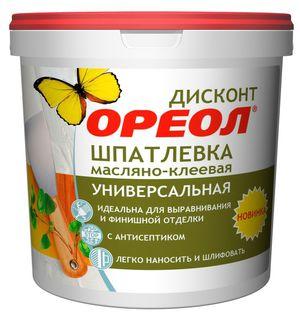 Шпатлевка Ореол масляно-клеевая универс Дисконт