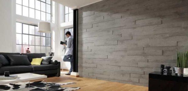 В современных интерьерах стеновые отделочные панели смотрятся динамично