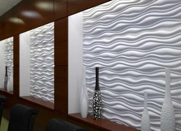 Это один из видов гипсовых стеновых отделочных панелей
