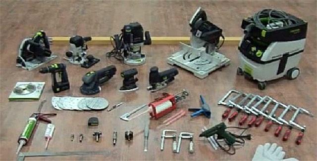 Инструменты для изготовления столешницы из листового материала «под камень»
