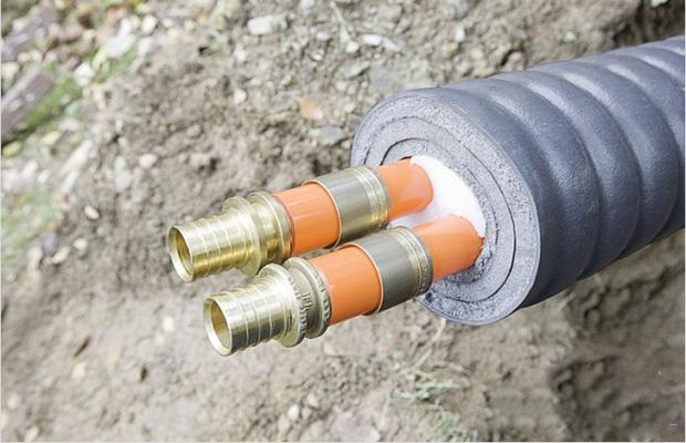 Материалы для утепления защищают водопровод от разрыва во время сильных морозов