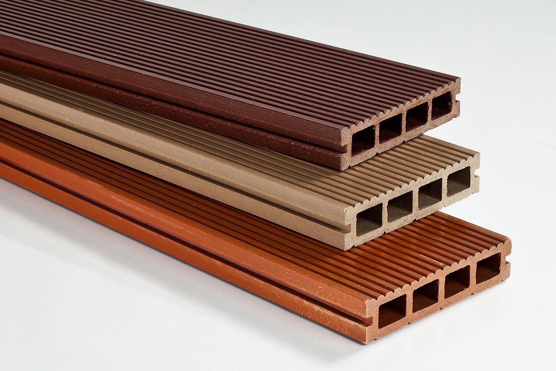 Террасные доски, изготовленные из «жидкой древесины»