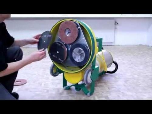 Плоскошлифовальная машина Lagler Trio с 3 дисками