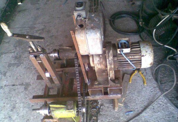 Прокатный трубогиб с электроприводом