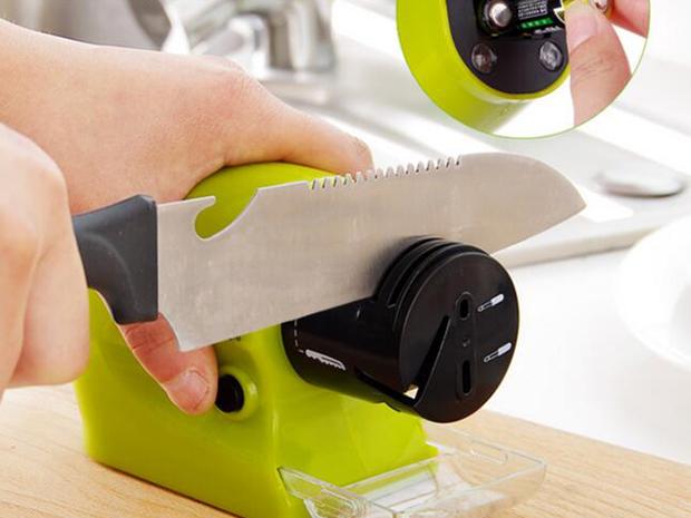 Заточка кухонного ножа в домашних условиях
