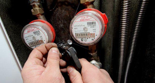 После установки водомеров обязательно вызывается специалист для опломбировки приборов