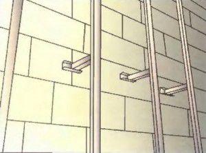 Вертикальная обрешетка