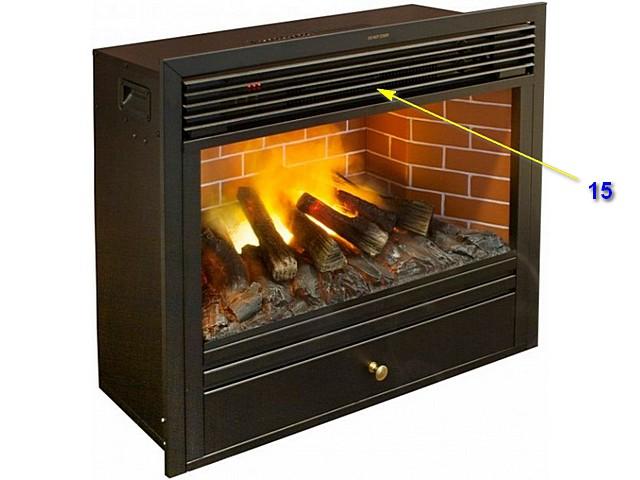 Многие модели имеют встроенный тепловентилятор, и тогда камин способен не только создавать визуальный эффект горения дров, но и полноценно обогревать помещение