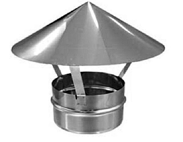Зонтик для оголовка вытяжной трубы