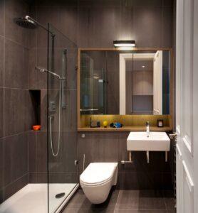 ванна маленького размера дизайн комнаты