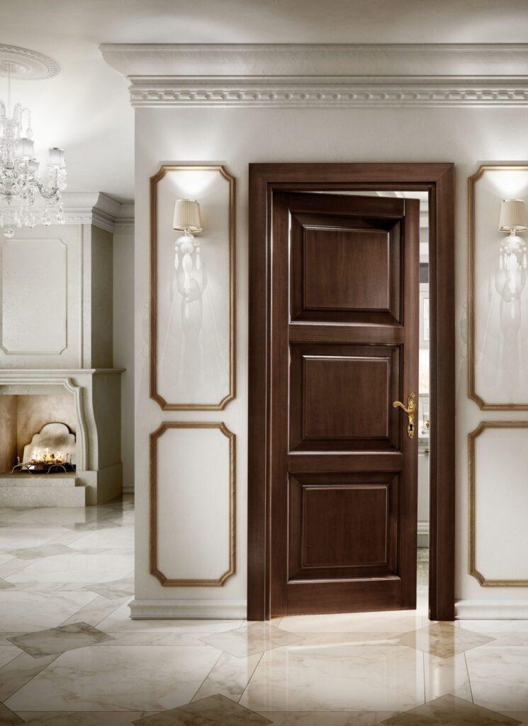 Декоративная отделка межкомнатных дверей