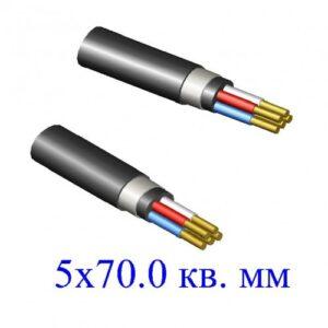 кабель ВБШв 5х70